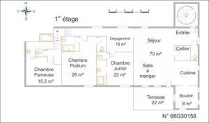 Figure 15A Plan Gite Alphonse